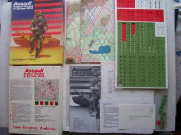 Assault Tactical Combat in Europe 1985 RARE Unplayed